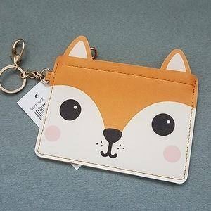 Adorable Fox Coin Pouch
